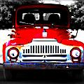Old Red Truck by Tina Meador