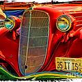 Old Red by Warrena J Barnerd