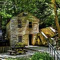 Old Rice Grist Mill by Paul Mashburn