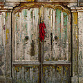 Old Ristra Door by Kurt Van Wagner