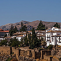 Old Ronda Panoramic. Andalusia. Spain by Jenny Rainbow