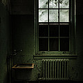 Old Room - Abandoned Asylum - The Presence Outside by Gary Heller