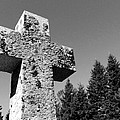 Old Rugged Cross Bw by David T Wilkinson