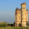 old ruined castle in Serbia by Goce Risteski
