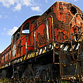 Old Rusted Locomotive by Shaun McWhinney