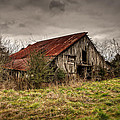 Old Rustic Barn by Brett Engle