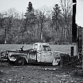 Old Rusty Gmc Pickup by Steve G Bisig