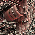 Old Rusty Pipes by Paul Ward