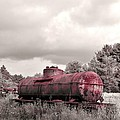 Old Rusty Tanker  2 by Anthony Thomas