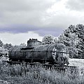 Old Rusty Tanker 3 by Anthony Thomas