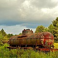 Old Rusty Tanker by Anthony Thomas