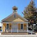 Old Sacramento California Schoolhouse 5d25541 by Wingsdomain Art and Photography