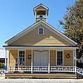 Old Sacramento California Schoolhouse 5d25543 by Wingsdomain Art and Photography