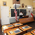 Old Sacramento California Schoolhouse Classroom 5d25780 by Wingsdomain Art and Photography