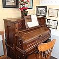 Old Sacramento California Schoolhouse Piano 5d25783 by Wingsdomain Art and Photography