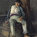Old Sailor Wearing A Beret, 1889 by Everett