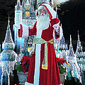 Old Saint Nick Walt Disney World Digital Art 02 by Thomas Woolworth