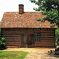 Winston-salem Nc - Old Salem Cottage by Frank Romeo