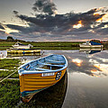Old Salmon Boat by Dave Wilkinson