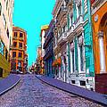Old San Juan by Carey Chen