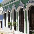 Old San Juan Street by The Art of Alice Terrill