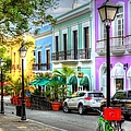 Old San Juan Street by Debbi Granruth