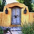 Old Santa Fe Gate by Paul Beckelheimer