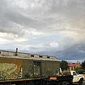 Old Santa Fe Railyard by Kathleen Grace