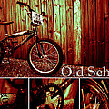 Old School Bmx - Pk Collage Colour by Jamian Stayt