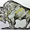 Old School Buffalo by Scott Emerling