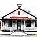 Old Schoolhouse Chester Springs by Bill Cannon