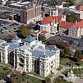 Old Sedgwick County Courthouse In Wichita by Bill Cobb