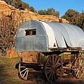 Old Sheepherder's Wagon by Nadja Rider