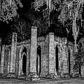 Old Sheldon Church by Charles Hite