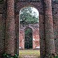 Old Sheldon Ruins Archway by Scott Hansen