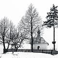 Old Shrine In Nowiny Horynieckie by Tomasz Dziubinski