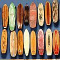 Old Skateboards On Display by Jan Garcia