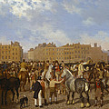 Old Smithfield Market by Jacques-Laurent Agasse