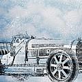 Old Sport Car by Yury Malkov