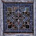 Old Stain Glass Window by Eduardo Palazuelos Romo
