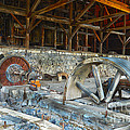 Old Stamp Mill In Berlin Nv by Michael R Erwine