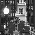 Old State House In Boston Black And White by John McGraw