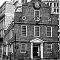Old State House In Boston by Boris Mordukhayev