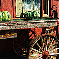 Old Station Cart by Paul W Faust -  Impressions of Light
