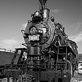 Old Steam Engine Black And White by Robert Storost