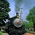 Old Steam Train by Sally Weigand