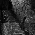 Old Steps In Chester England by Ann Garrett
