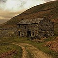 Old Stone Barn by David Borrill