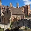 Old Stone Bridge In Bruges  by Jaroslav Frank