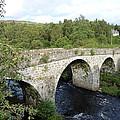 Old Stone Bridge In Scotland by Diane Palmer